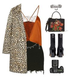 """""""#880 (TOP SET)"""" by aliensforsale ❤ liked on Polyvore featuring Chanel, Wes Gordon, DANNIJO, Maison Margiela, Dolce&Gabbana, Nikon and MANGO"""