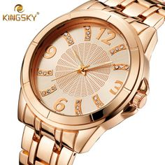 $25.00 (Buy here: https://alitems.com/g/1e8d114494ebda23ff8b16525dc3e8/?i=5&ulp=https%3A%2F%2Fwww.aliexpress.com%2Fitem%2Fnew-arrive-men-Quartz-watch-full-Steel-Case-Fashion-and-casual-male-clock-gold-Watches-men%2F32625939751.html ) Watches Women Luxury Brand KINGSKY Flower Quartz Watch Diamond Dial Female Alloy Analog Business Casual Wristwatch Bracelet 2016 for just $25.00