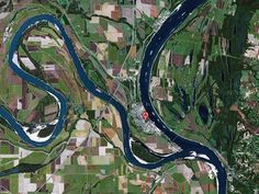 Cairo Il Between The Mississippi And Ohio Rivers Google Maps