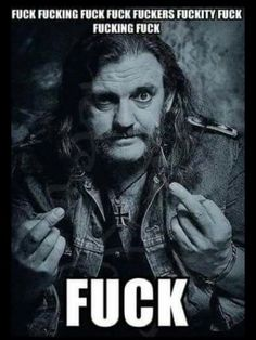 Awesome. Just like me LEMMY HAD IT RIGHT SEE YOU IN VALHALLA LEMMY WE WILL JAM TOGETHER
