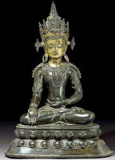 Ratnasambhava | Himalayan Buddhist Art - Art Bouddhiste de l'Himalaya Buddha Sculpture, Buddha Statues, Om Mani Padme Hum, Buddha Painting, Tibetan Art, Buddhist Art, Bhutan, 14th Century, Himalayan