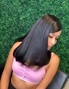 Slick Hairstyles, Baddie Hairstyles, Ponytail Hairstyles, Hair Ponytail Styles, Curly Hair Styles, Natural Hair Styles, Fire Hair, Hair Laid, Braids For Black Hair