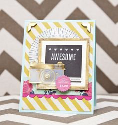 Crate Chalkboard Inspired Cards - crate paper flea market