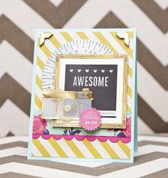 Crate Chalkboard Inspired Cards - crate paper flea market