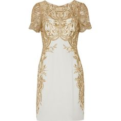 Marchesa Notte Embroidered tulle and silk-crepe mini dress ($1,145) ❤ liked on Polyvore featuring dresses, notte by marchesa dresses, short white dresses, white tulle dress, see through dress и transparent dress