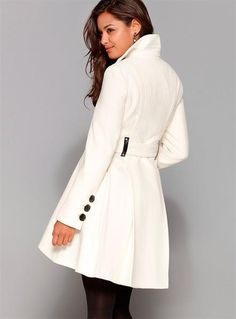 Модное женское зимнее пальто