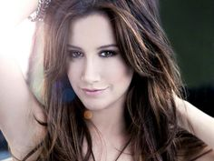 Ashely Tisdale brown hair #love