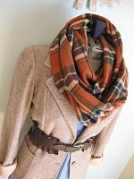H is for Handmade: Plaid Infinity Scarf Tutorial Infinity Scarf Tutorial, Plaid Infinity Scarf, Plaid Scarf, Infinity Scarfs, Diy Plaid, Plaid Flannel, Scarf Belt, Tube Scarf, Loop Scarf
