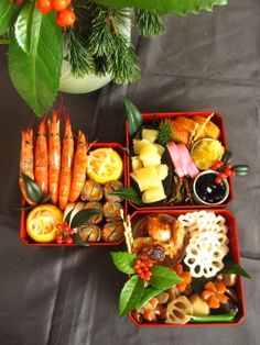 New Year osechi food 2