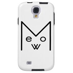 Samsung Galaxy S4, Vibe case with Meow Design