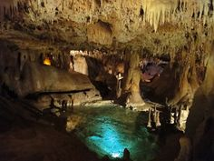 Inner Space Caverns Georgetown, Texas....just north of Austin - easily combined with a 3 hour roadtrip to all the stuff in that area.