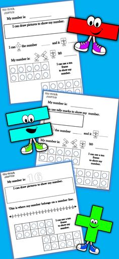 37 pages of DAILY math journal pages!  Great for DIFFERENTIATION!!! #math #journal #dailywork #printables