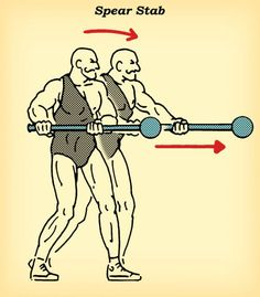 Train Like an Ancient Hindu Warrior: The Steel Mace Workout Kettlebell Cardio, Kettlebell Training, Hiit, Wrestling Workout, Catch Wrestling, Sledgehammer Workout, Prison Workout, Indian Clubs, Workout Routine For Men