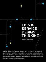 This is Service Design Thinking: Basics - Tools - Cases