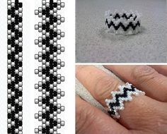 lace_ring  a photo by sallaevilincarnate  on Flickr. So I really like how this ring turned out. The wonkyness of the top beads gives it a v...