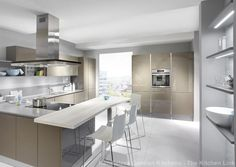 Handleless kitchens in London, Kent and UK. Flush fitting kitchen doors and drawer fronts, The LINE N collection from Nobilia at The Kitchen Link. Nobilia Kitchen, Gloss Kitchen, Kitchen Doors, Kitchen Handles, Kitchen On A Budget, Kitchen Cupboards, Handleless Kitchen, Kitchen Gallery, Kitchen Pictures