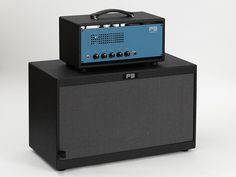 P3 Handwired Guitar Amp High Guy 30 Watt blue amp and cabinet