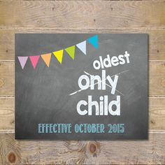 Big Sister Sign Pregnancy Announcement Big by SweetSophieDigitals