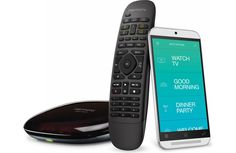 Control for A/V devices and much more The Logitech Harmony Home Control gives you one-touch control over your home entertainment system and many types of home automation systems, too.