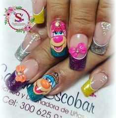 Pedicure, My Nails, Style Me, Nail Designs, Nail Art, Glitter, Beauty, Finger Nails, Polish Nails