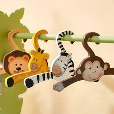 Fantasy Fields - Sunny Safari Set of 4 Hangers