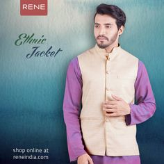 Feel the warmth of Chilling Winter! Adorn the Rene Ethnic Jacket for this season.   Get it here: https://buff.ly/2iMVEjq  #Jacket #Ethnic #Rene #Reneindia