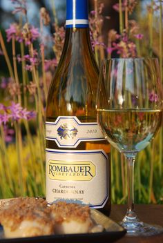 Rombauer Vineyards Chardonnay. A never ending supply of my favorite wine!!!