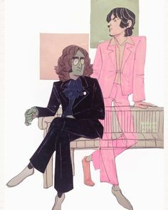 Haven't drawn Jawn and Pol in a while Bug Boy, Beatles Art, The Fab Four, John Paul, Ringo Starr, Gorillaz, Lady And Gentlemen, Paul Mccartney, John Lennon