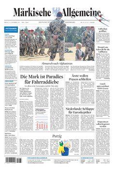 Freitag, 14. September 2012