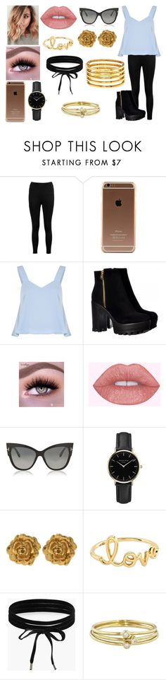 """""""~I Want Something Just Like This~"""" by kap-kap99 ❤ liked on Polyvore featuring Boohoo, Tom Ford, ROSEFIELD, Liberty, Sydney Evan, Jennifer Meyer Jewelry and Kenneth Jay Lane"""