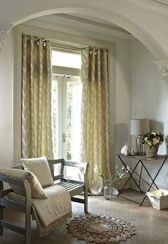 Prestigious Textiles have been designing beautiful interior fabrics and wallpapers for over 30 years. Choose from the UK's widest range of upholstery, cushion and curtain fabrics. Prestigious Textiles, Rich Home, Drapery Rods, Interior Concept, Curtains With Blinds, Modern Prints, Window Coverings, Beautiful Interiors, Soft Furnishings
