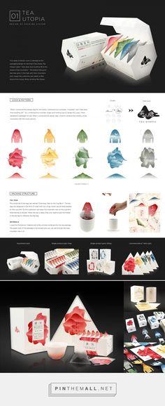 Tea Utopia - Packaging of the World - Creative Package Design Gallery - http://www.packagingoftheworld.com/2017/07/tea-utopia.html - created via https://pinthemall.net