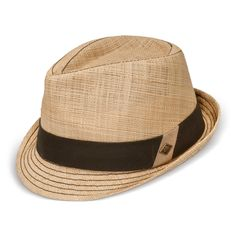 583b2b837c8 A Goorin Everyday straw fedora Who The Cap Fit
