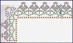 Resultado de imagen para descargar gratis puntillas tejidas a crochet
