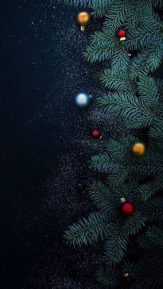 [クリスマス]クリスマス暗めトーンiPhone壁紙 iPhone 5/5S 6/6S PLUS SE Wallpaper Background