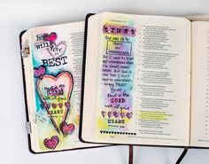 Bible Art Journaling - How to get started!!  Great information!