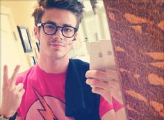 grant gustin muscles - Google Search