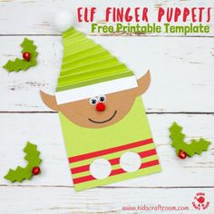 diy elf hats for sam pinterest christmas crafts elves and crafts