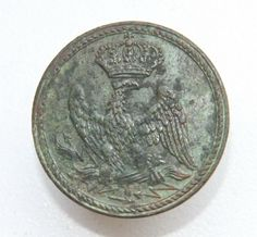 France French Napoleonic War 1812 Tunic Uniform Guard Button 26mm | eBay
