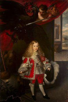 International Portrait Gallery: Retrato del Rey Carlos II de las Españas