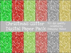 Instant Download Graphic Digital Glitter Paper by ChangingVases, $1.00