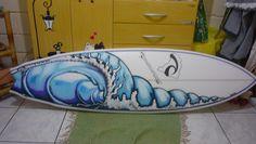 Wave art surfboard <3
