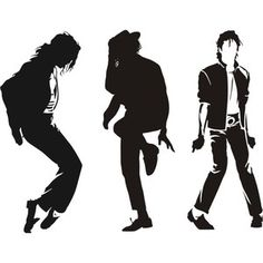 michael jackson silhouette - Google Search