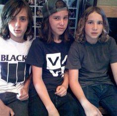 Jesse Lyga, Zach Abels & Mikey Margott.
