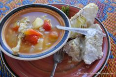 Breadfruit is commonly served as a side dish in Samoa - click through to the website to see more about Samoan food