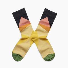 Bonne Maison Multicolor Geometric Socks