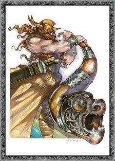 Heimdall - God of light and protection
