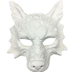 Wolf Maske Steampunk Stil beängstigend Horror Teufel Wolf Tier | Etsy
