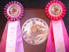 Hot pink and purple with a Southwest theme previously used in the Phoenix Show Circuit shows in 2005.