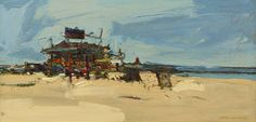 Beach Shop | From a unique collection of landscape paintings at…